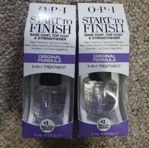 2 OPI Nail Start to Finish